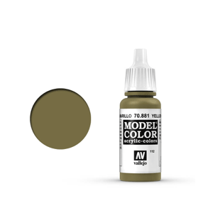 Vallejo Model Colour 70.881 Yellow Green, Acrylic Paint