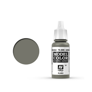 Vallejo Model Colour 70.886 Green Grey, Acrylic Paint