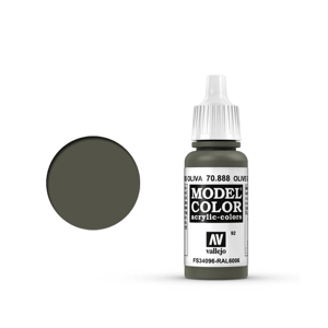 Vallejo Model Colour 70.888 Olive Grey, Acrylic Paint