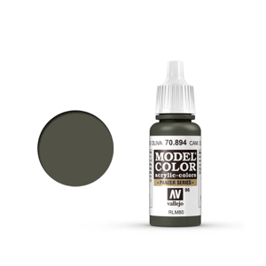 Vallejo Model Colour 70.894 Camouflage Olive Green, Acrylic Paint