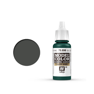 Vallejo Model Colour 70.896 German Camouflage Extra Dark Green, Acrylic Paint