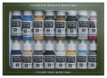 Vallejo Model Colour American Civil War Colours Paint Set