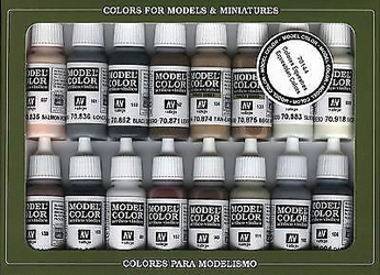Vallejo Model Colour Equestrian Colours Paint Set